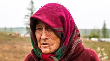 Indigene Selkup-Frau