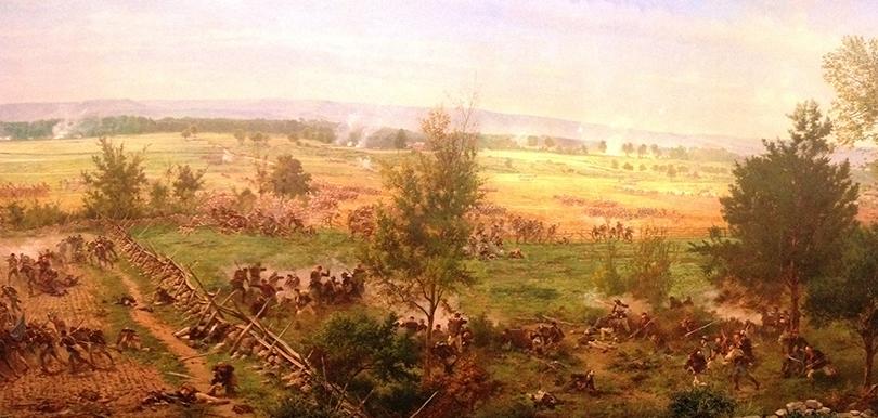 Ausschnitt: Cyclorama of the Battle of Gettysburg