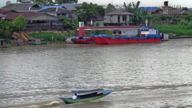 Fluß in Südostasien