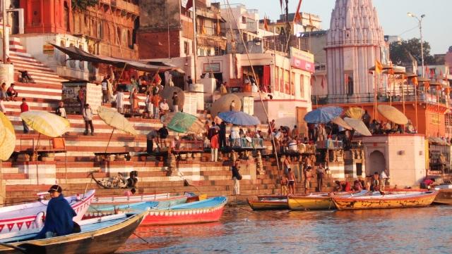 Indien, Szene am Fluss
