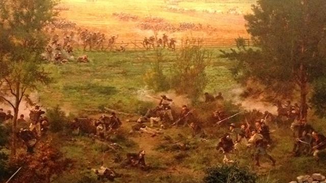 Panorama der Schlacht von Gettysburg