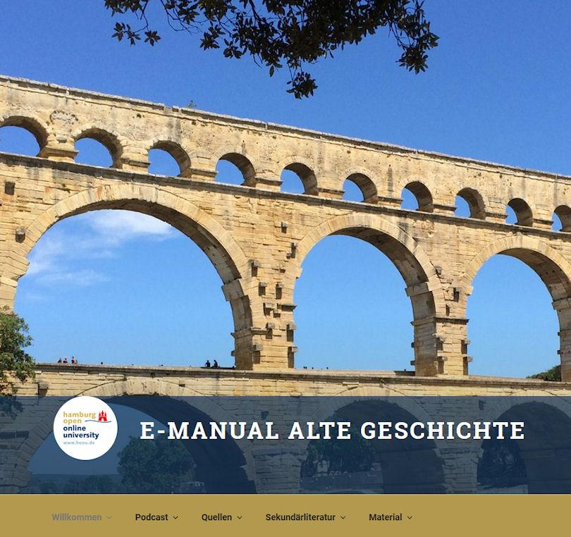 Webseite Alte Geschichte