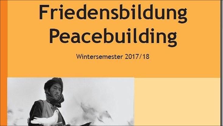 Friedensbildung WS 17_18