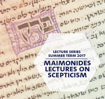 Maimonides Lecture 2017