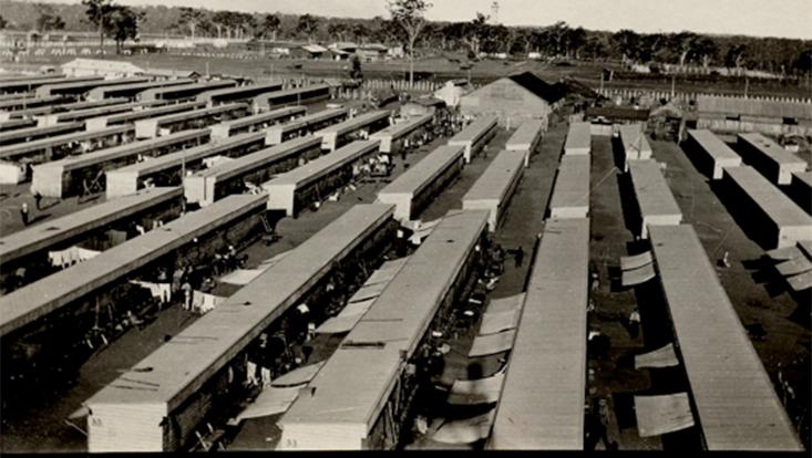 German Concentration Camp (G.C.C.) Liverpool, Australien