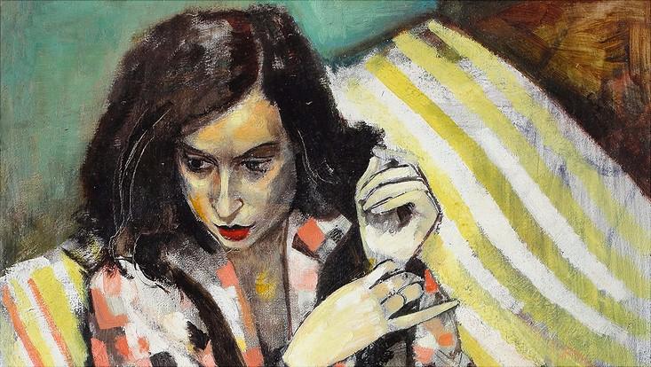 Eric Isenburger: Jula, 1929, Öl auf Leinwand