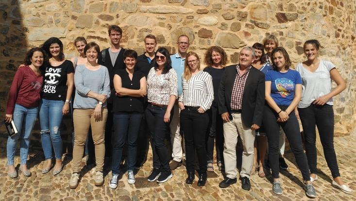 Gruppenbild / Kick-off Workshop im nordspanischen Astorga
