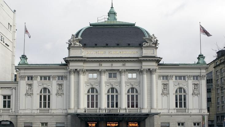 Deutsches Schauspielhaus - Außenaufnahme des Gebäudes