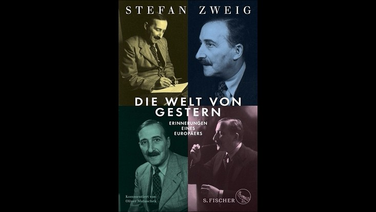 """Buchcover Stefan Zweig """"Die Welt von Gestern"""""""