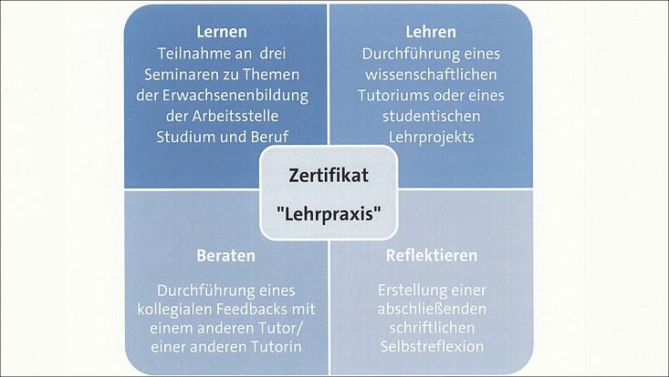Zertifikat Lehrpraxis Grafik