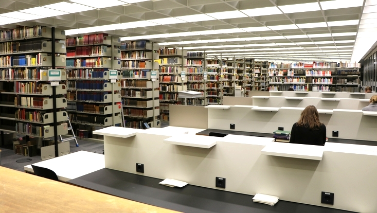 Arbeiten in der Fachbereichsbibliothek SLM