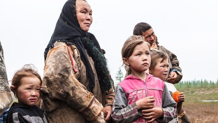Menschen aus Krasnoselkup, Yamal
