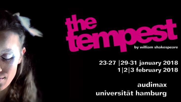"""Video-Trailer von """"The Tempest"""" (University Players Hamburg)"""
