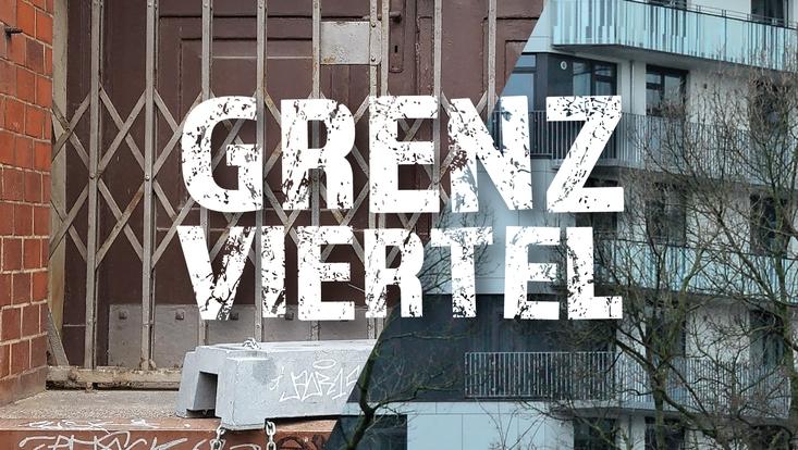 """""""Grenzviertel""""-Grafik von Wolfgang Shaar"""