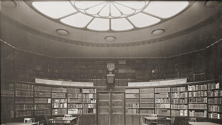 Lesesaal im Warburg-Haus