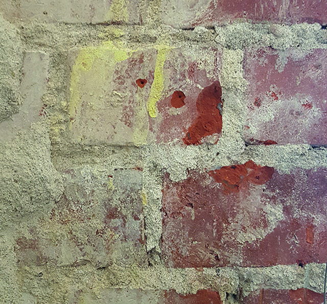 Mauerausschnitt