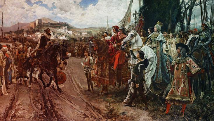 Francisco Pradilla y Ortiz, La rendición de Granada (1882)