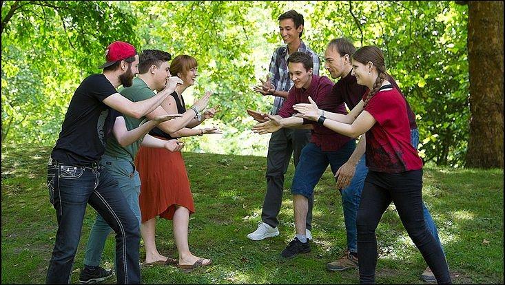 Beim historischen Moot Court traten acht Studierende in zwei Teams gegeneinander an, um über das Schicksal von fünf der Catilinarischen Verschwörer zu verhandeln.